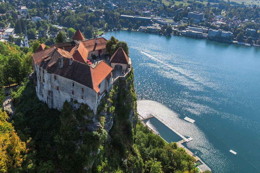 Show item 7 of 7. Castle Bled in Slovenia