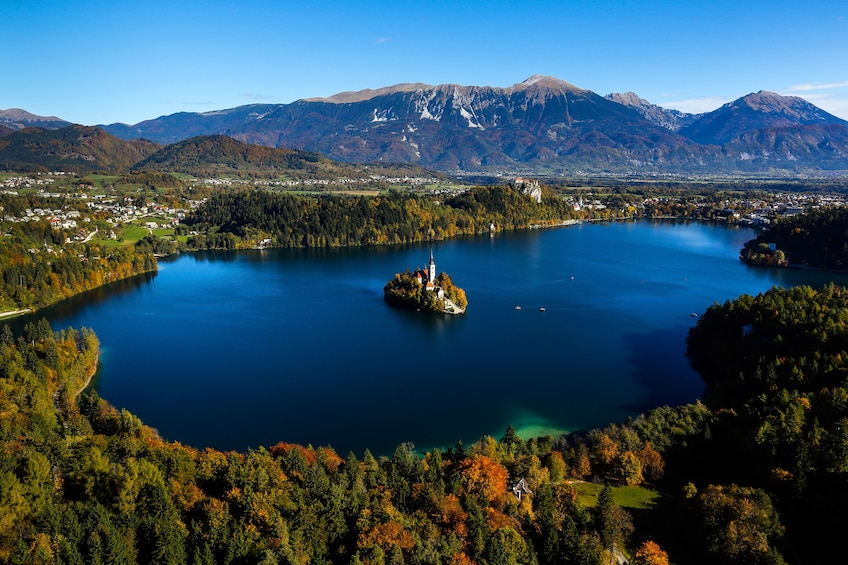 Show item 1 of 7. Lake Bled in Slovenia