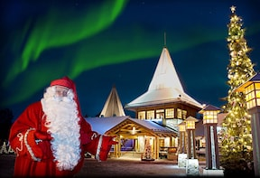 Santa Claus Village, Arctic Circle and Lappish Buffet