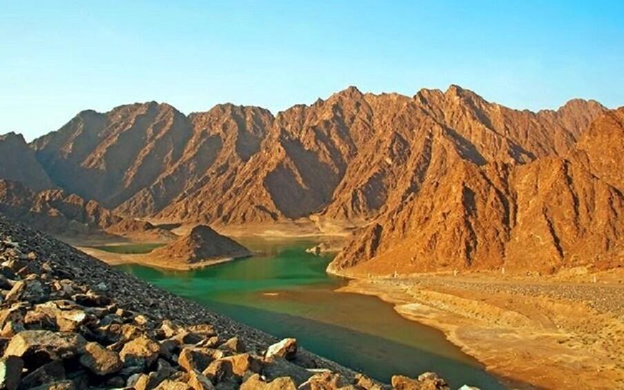 Show item 4 of 4. Hajar Mountains in Dubai