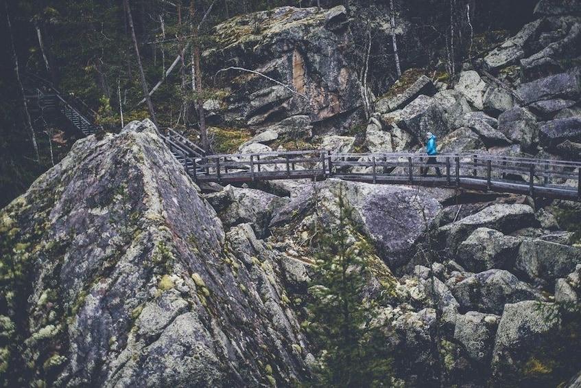 Show item 4 of 7. Rovaniemi: Auttiköngäs Nature Trail