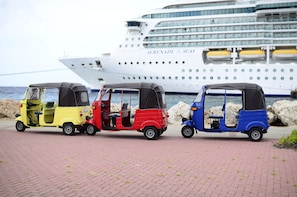TukTuk Shore Excursion (For Cruise Ship Travelers)