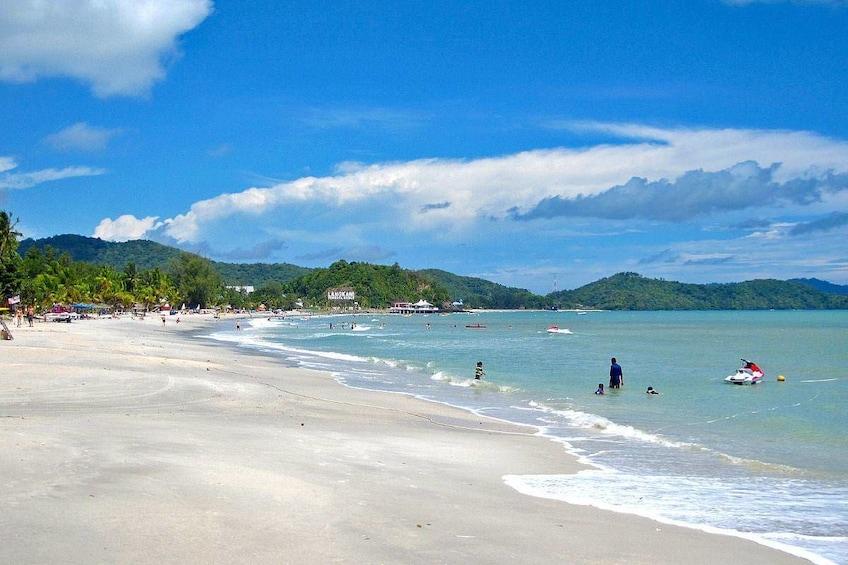 Show item 3 of 10. Pantai Tengah beach