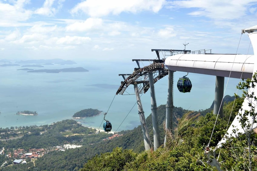 Show item 1 of 10. Langkawi cable car