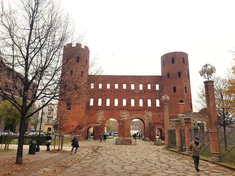 Show item 2 of 5. Porta Palatina in Turin, Italy