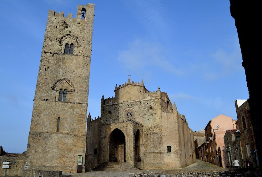 Ancient church in Erice