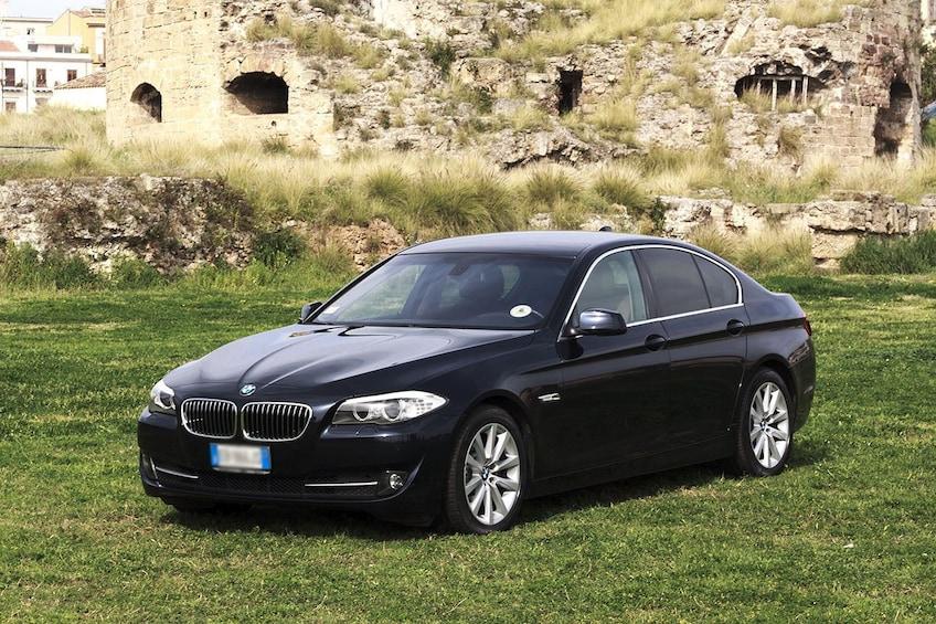 Private sedan in Italy