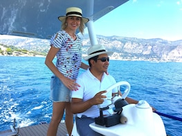 Romantic Private Tour on a Solar Boat near Nice & Monaco