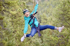6-Zipline and Rafting Combo Adventure in the Rocky Mountains