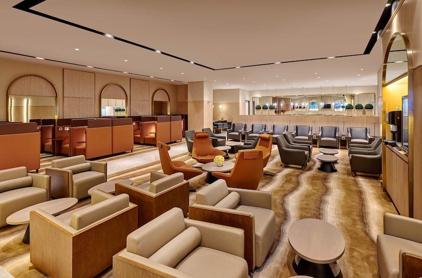 Show item 5 of 8. Plaza Premium Lounge at Mactan-Cebu International Airport