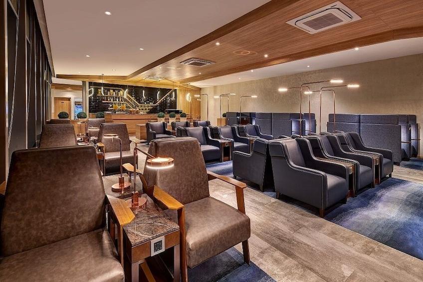 Show item 4 of 8. Plaza Premium Lounge at Mactan-Cebu International Airport
