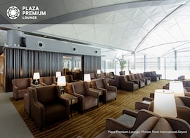 Plaza Premium Lounge at Phnom Penh International Airport