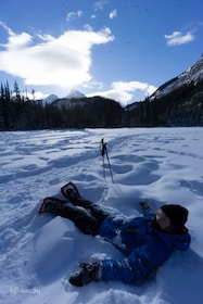 Snowshoeing in Kananaskis
