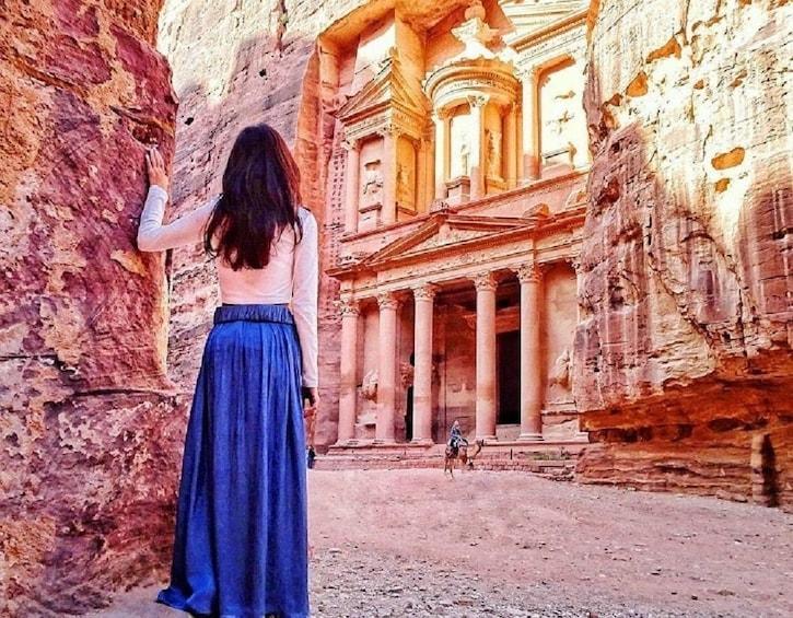 Petra private tour from Dead Sea