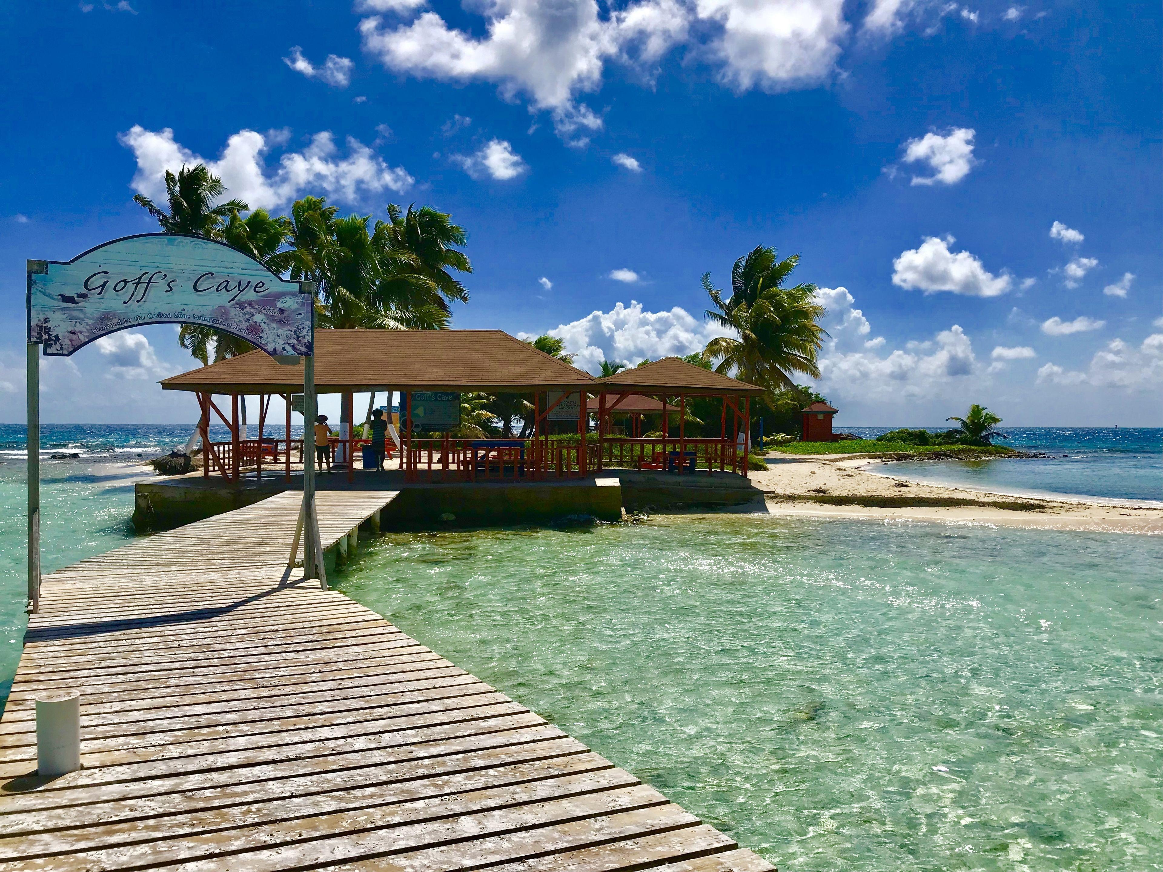 Goff's Caye Island Beach Break And Snorkeling