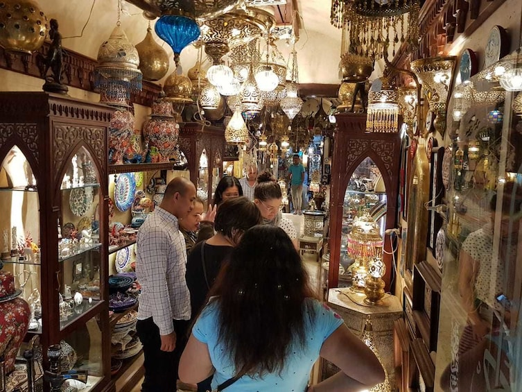 Show item 3 of 9. Private tour Walk & Talk Al-Muizz street & Khan El Khalili