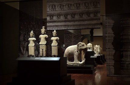 Art on display at the Asian Civilisations Museum in Singapore