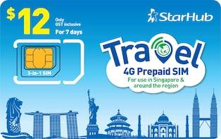 Starhub - Travel Prepaid SIM