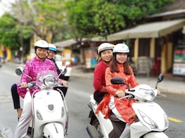 Discover Ancient Village in Da Nang with Driver in Ao Dai