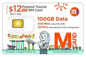 M1 Prepaid Tourist SIM