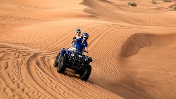 Red Dunes Safari, ATV Bikes, Sandsurf & BBQ at Al Khayma