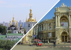 Kyiv-Odesa: 7-day self-guided tour, sleeper train experience