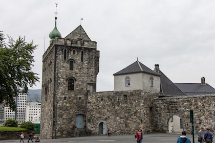 Stone fortress in Bergen