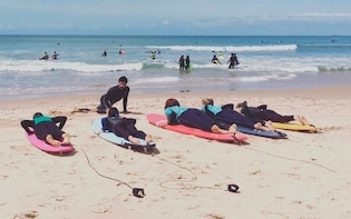 Sintra and surf lesson - full day private tour