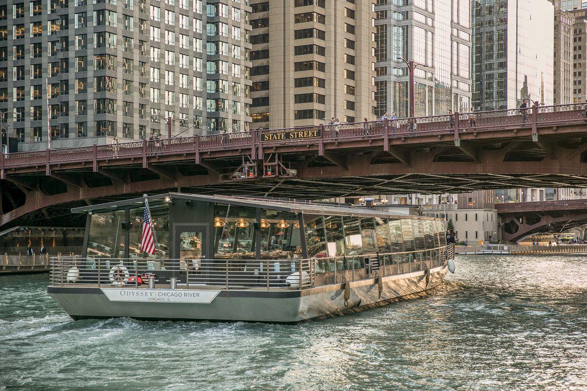 Odyssey Chicago River Architectural Brunch Cruise