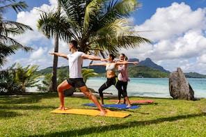 Bora Bora Yoga and Lagoon Experience