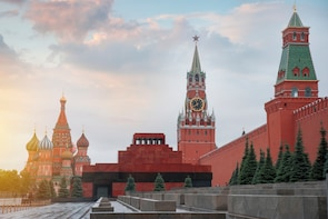3Hr Private Kremlin and Red Square Tour with Pick Up