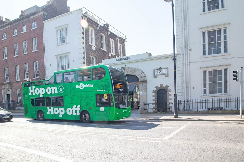 Show item 3 of 10. DoDublin - Hop On Hop Off - Open Top Bus Tour