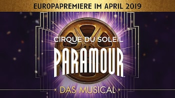 CIRQUE DU SOLEIL PARAMOUR in Hamburg - Ticket
