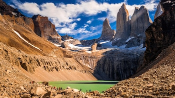 Hiking Base Las Torres at Torres del Paine National Park