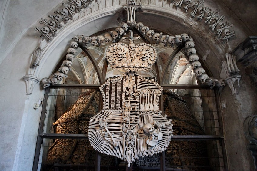 Show item 10 of 10. Kutna Hora and Bone Chapel Tour From Prague