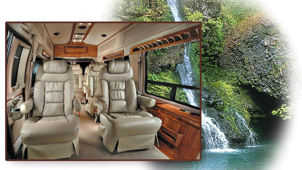 Show item 1 of 10. Road to Hana Premium Picnic via Luxury Limo-Van
