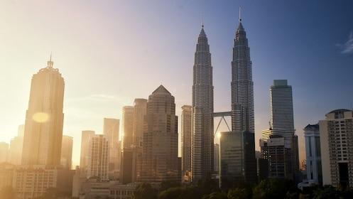 Sunrise view of Kuala Lumpur