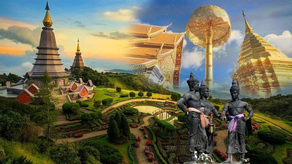 Show item 1 of 10. Chiang Mai City and Temple Tour