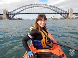 Kayak to Goat Island - At the Heart of Sydney Harbour