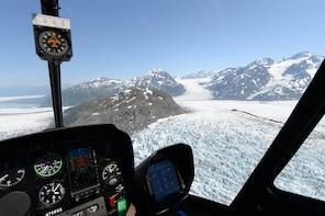 Knik Glacier Helicopter Tour plus Glacier Landing - 60 mins