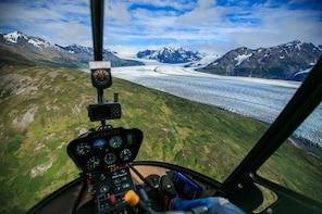 Knik Glacier Helicopter Tour plus Glacier Landing - 75 mins