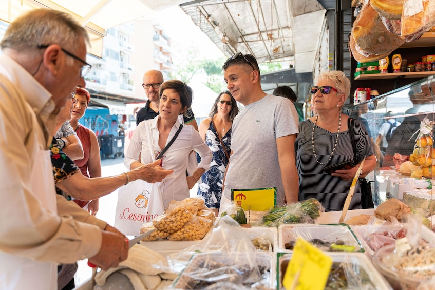 Show item 3 of 8. Local Market visit and Dining at a local's home in Cagliari