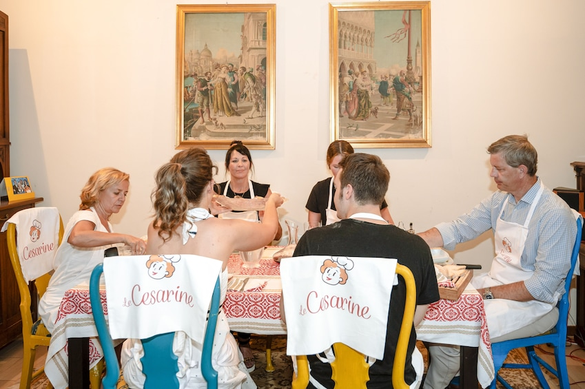 Show item 3 of 5. Local Market visit and Dining at a local's home in La Spezia