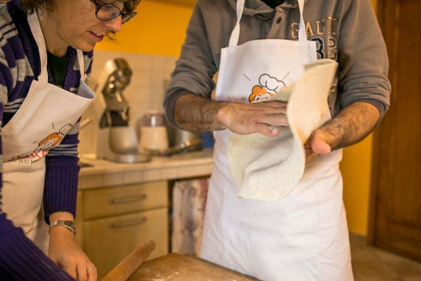 Show item 4 of 6. Private cooking class at a local's home in Lake Maggiore