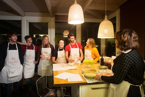 Private Market tour + Cook + Dine in a local home in Langhe