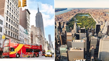 Top New York Attraction Entry & Hop On Hop Off Bus Tour