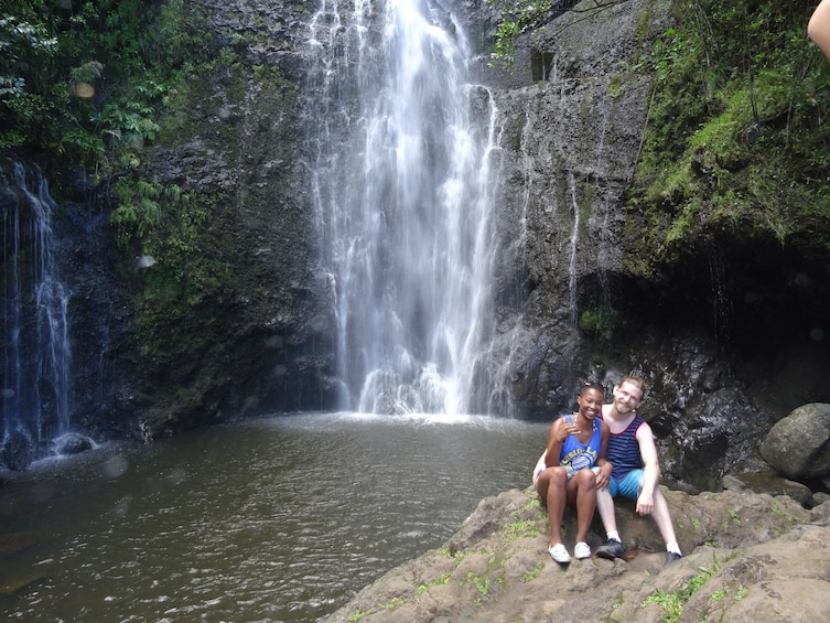 Show item 3 of 10. Small Group Luxury Road to Hana Waterfalls & Lunch