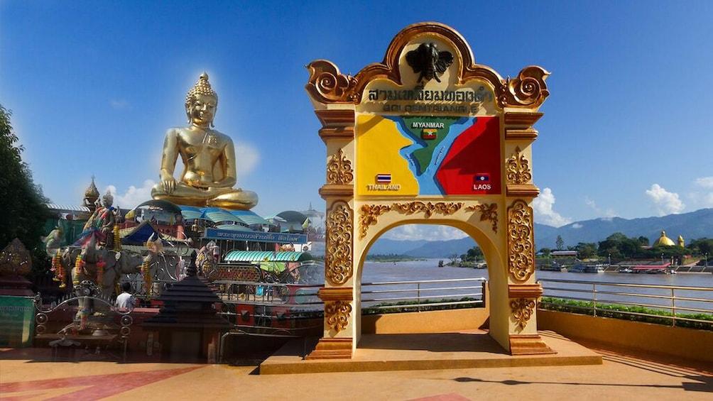 Show item 1 of 10. Chiang Rai & Golden Triangle Border Tour
