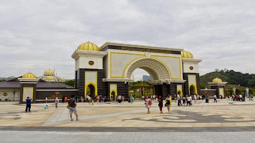 Exterior of Istana Negara in Kuala Lumpur, Malaysia