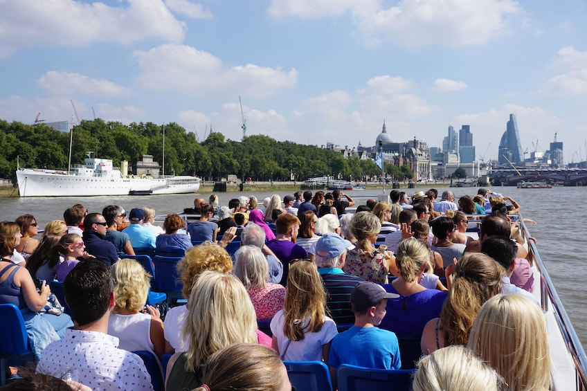 Show item 5 of 8. Westminster to Greenwich Cruise on the River Thames